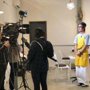 スパイシー曽根テレビ取材1